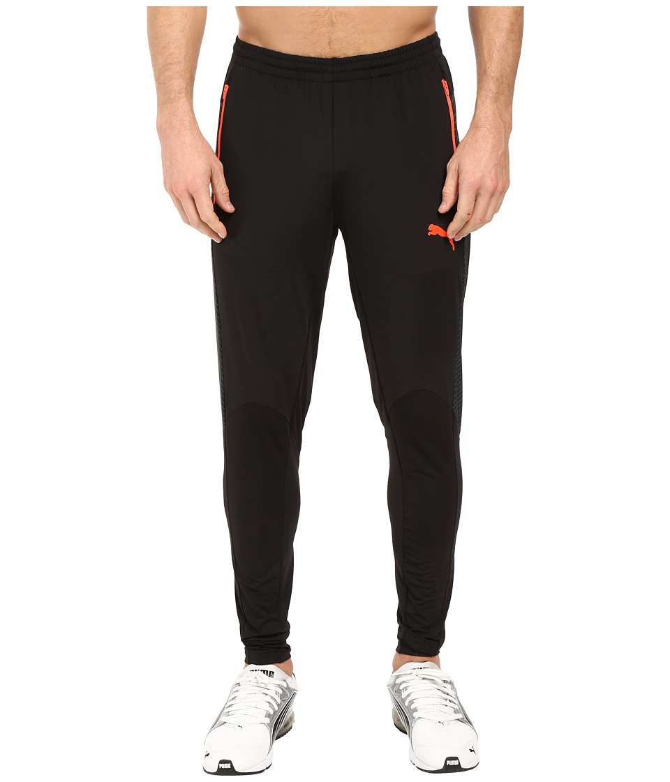 PUMA - IT EVOTRG Pants Tech (Puma Black/Red Blast) Men's Casual Pants