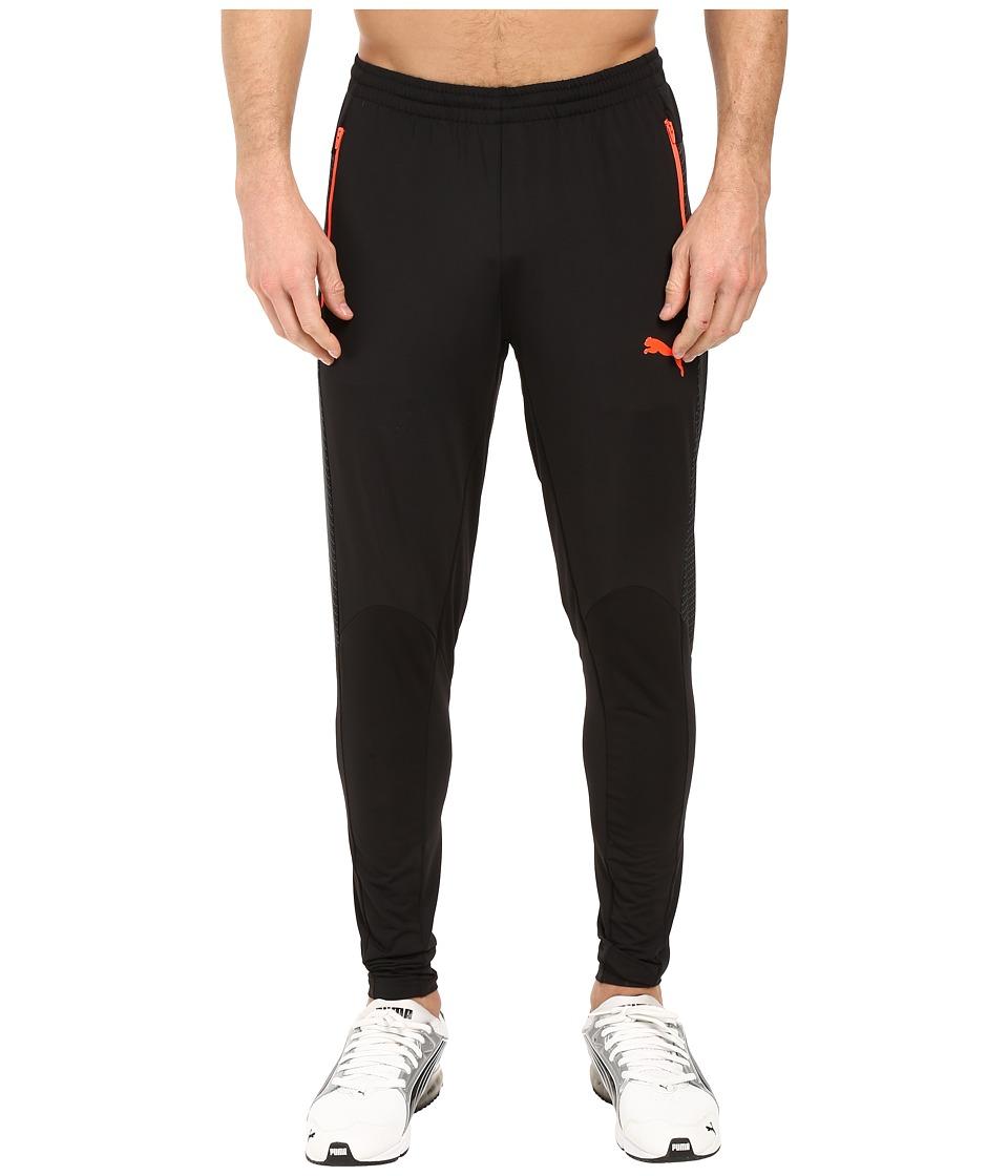 PUMA - IT EVOTRG Pants Tech (Puma Black/Red Blast) Men's Casual Pants