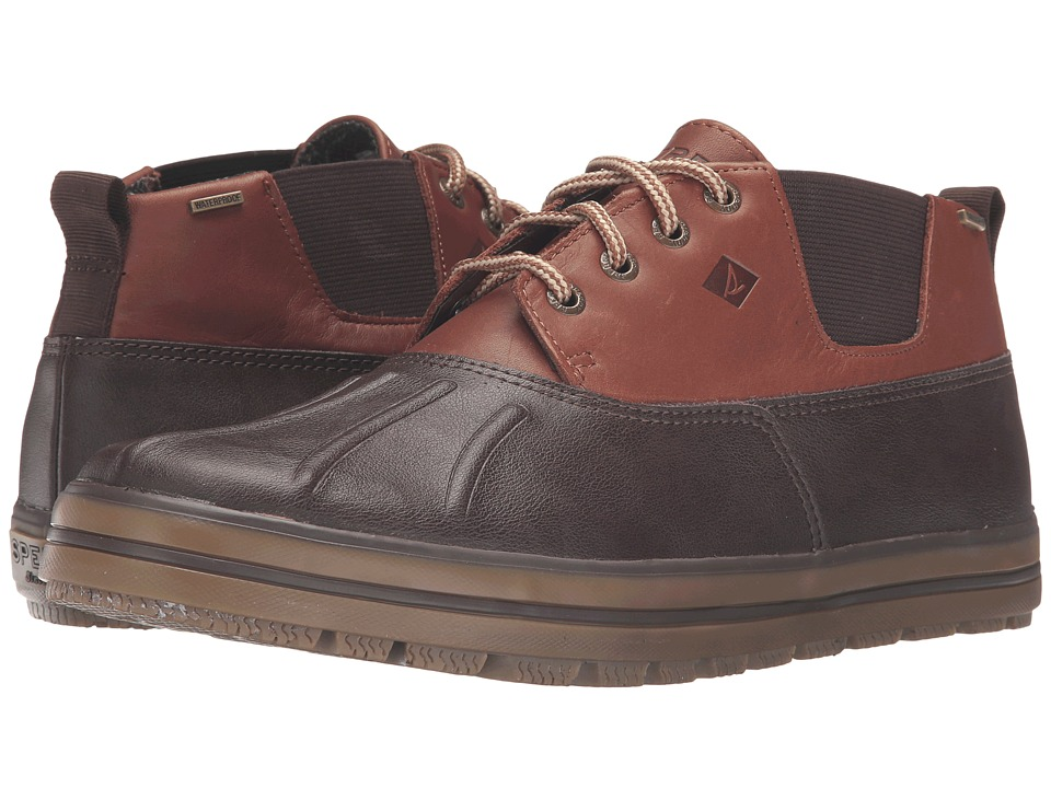 Sperry - Fowl Weather Chukka (Dark Brown) Men's Lace up casual Shoes