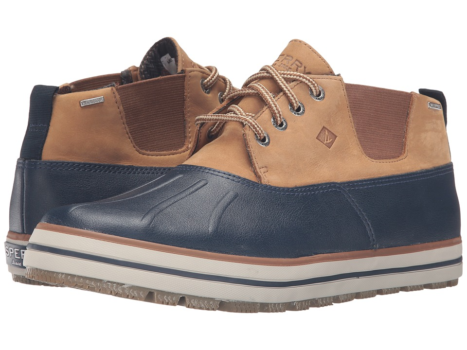 Sperry - Fowl Weather Chukka (Navy) Men's Lace up casual Shoes