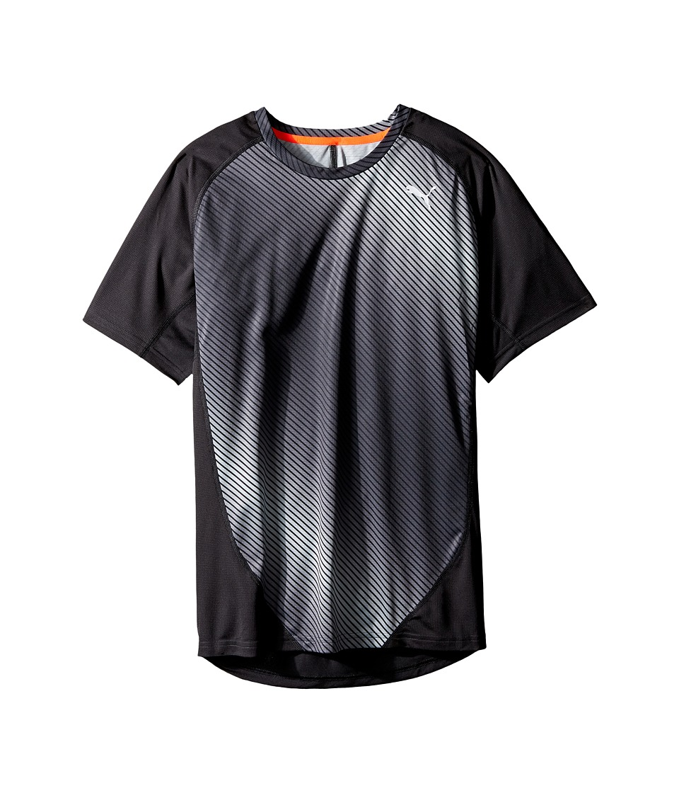 PUMA - Graphic Short Sleeve Tee (Puma Black/AOP Graphic) Men's T Shirt