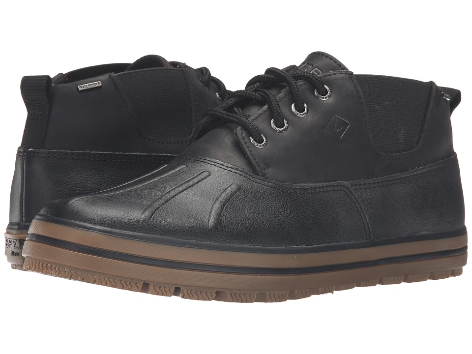 Sperry - Fowl Weather Chukka (Black 2) Men's Lace up casual Shoes