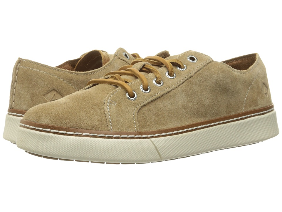 Sperry - Clipper LTT Suede (Tan) Men's Lace up casual Shoes