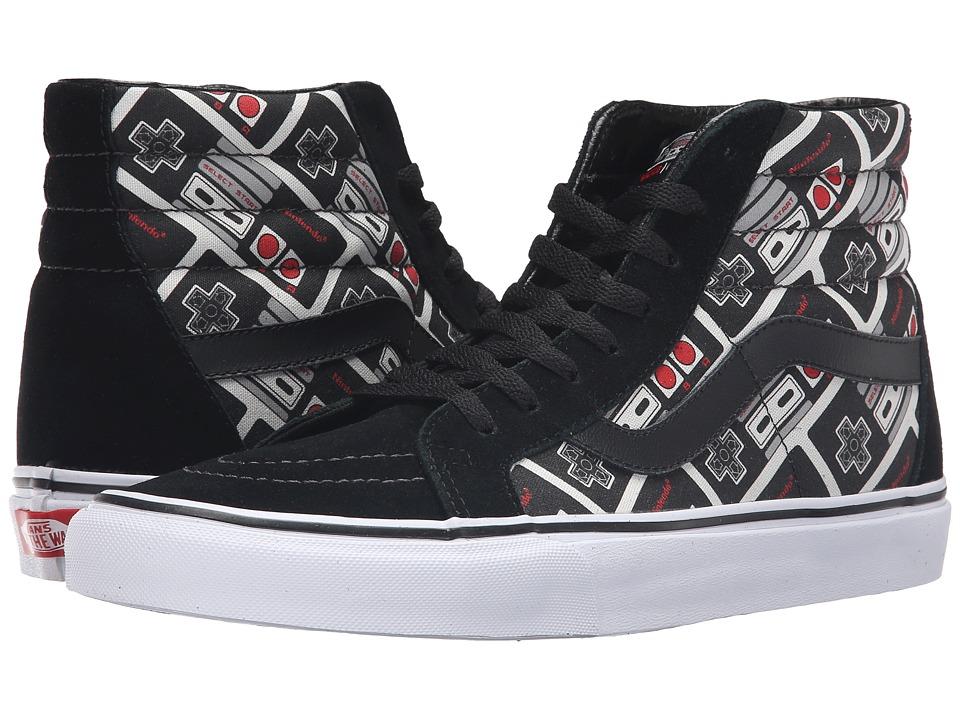 Vans - SK8-Hi Reissue X Nintendo ((Nintendo) Controller/True White) Skate Shoes