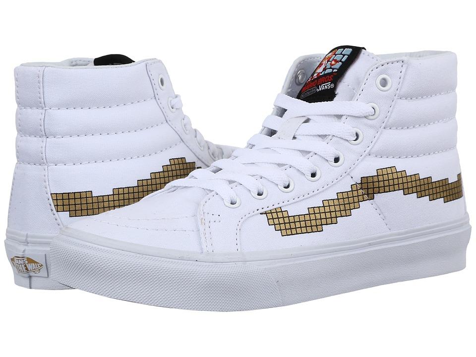 Vans - SK8-Hi Slim X Nintendo ((Nintendo) Console/Gold) Skate Shoes
