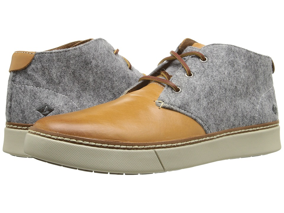 Sperry - Clipper Chukka (Tan/Grey) Men's Lace up casual Shoes