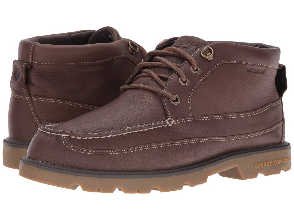 Sperry Top-Sider - A/O Lug Boat Chukka Waterproof Boot (Brown) Men's Lace-up Boots