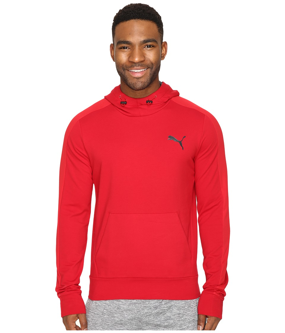 PUMA - Stretchlite Hoodie TR (Barbados Cherry) Men's Sweatshirt