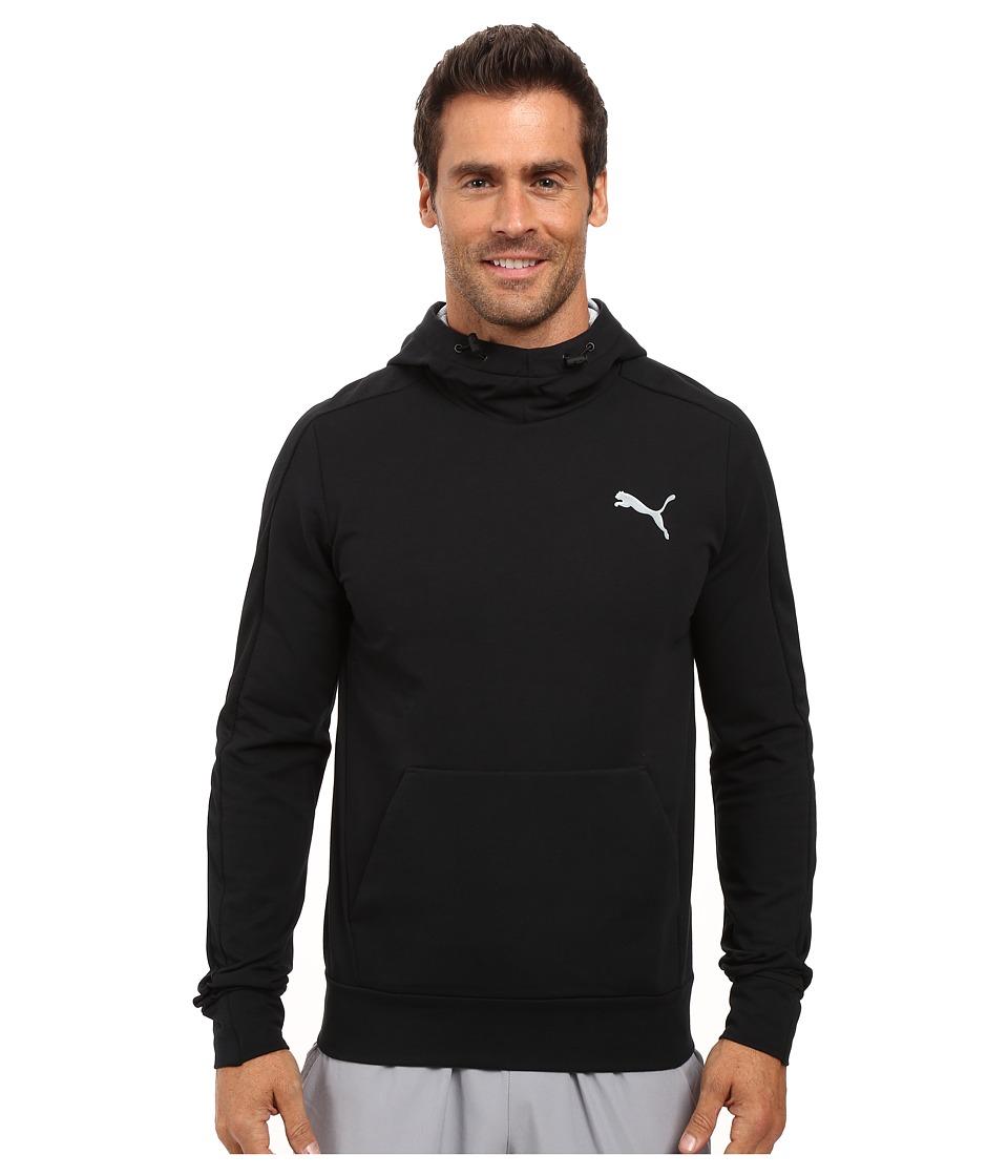 PUMA - Stretchlite Hoodie TR (Cotton Black) Men's Sweatshirt