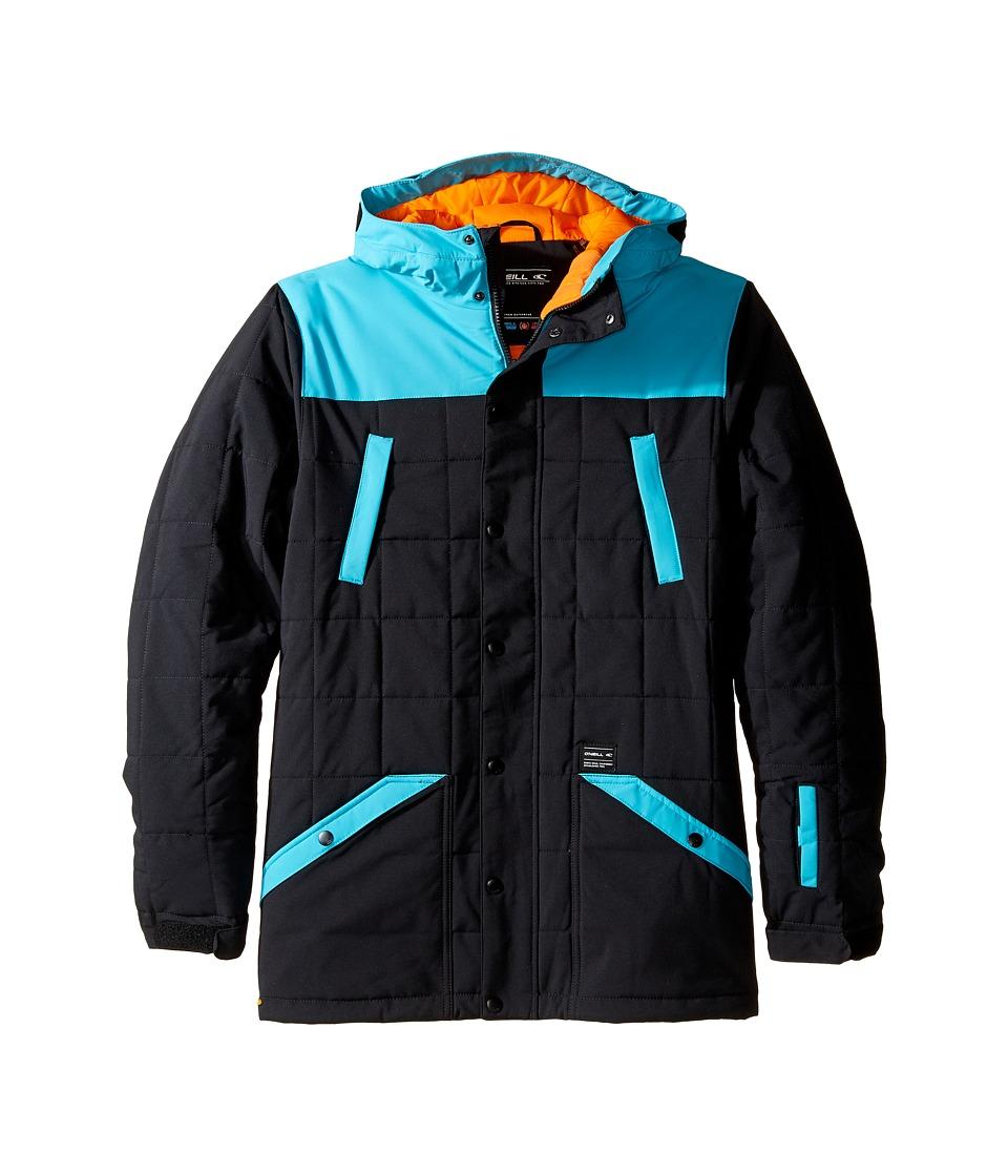 O'Neill Kids - Element Jacket (Little Kids/Big Kids) (Black Out) Boy's Coat