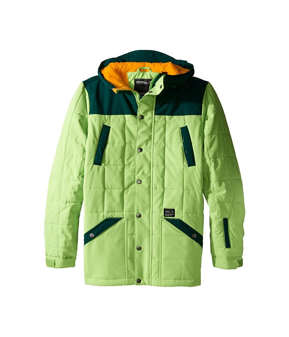 O'Neill Kids - Element Jacket (Little Kids/Big Kids) (Limeade) Boy's Coat
