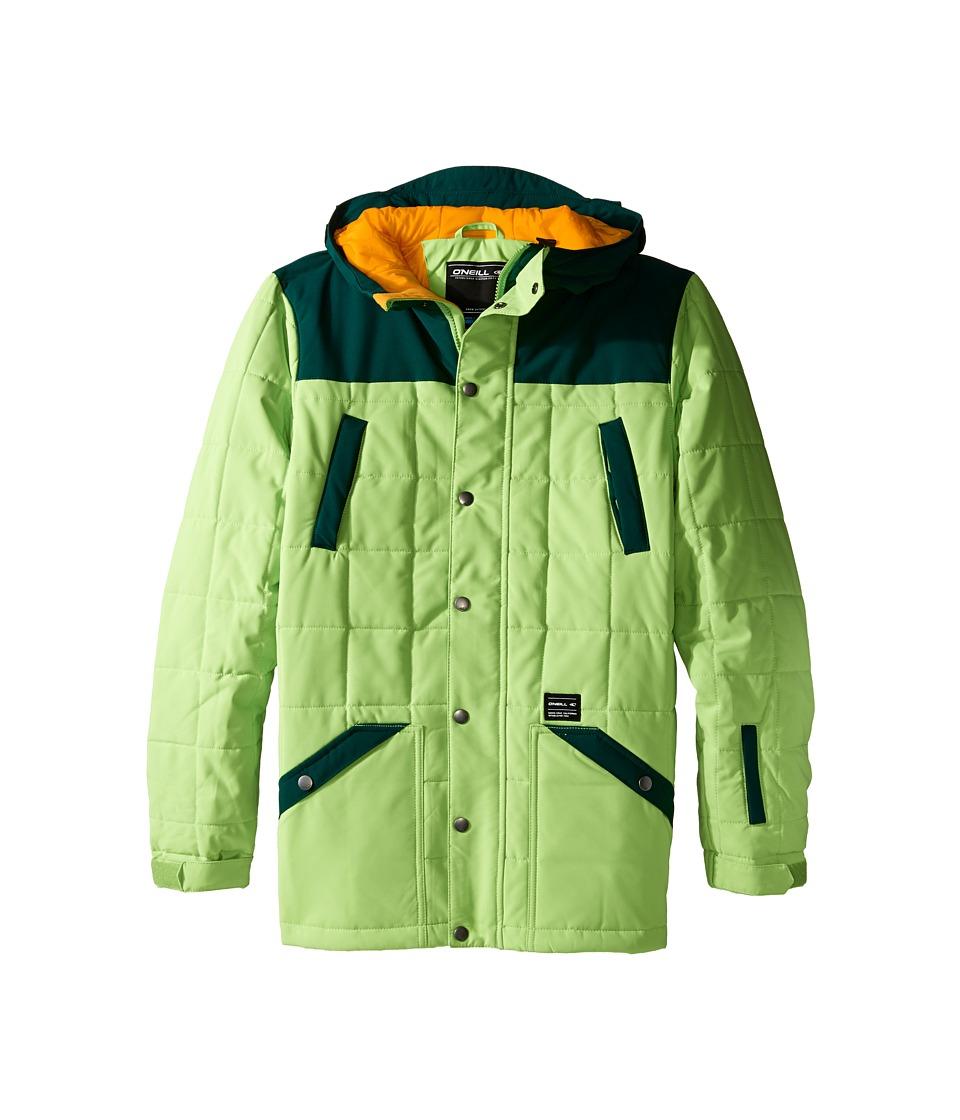 O'Neill Kids - Element Jacket (Little Kids/Big Kids) (Limeade) Boy's Coat
