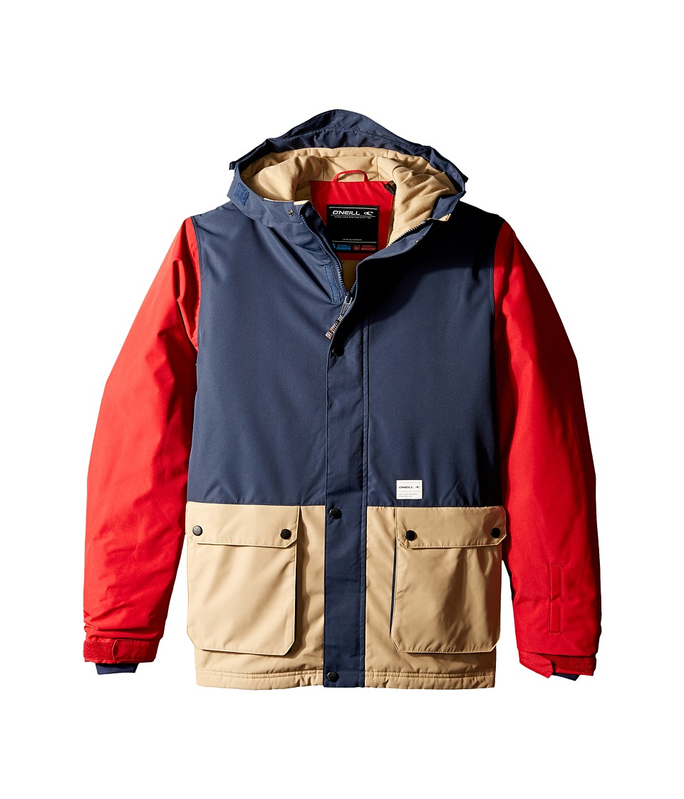 O'Neill Kids - Hawking Jacket (Little Kids/Big Kids) (Scooter Red) Boy's Coat