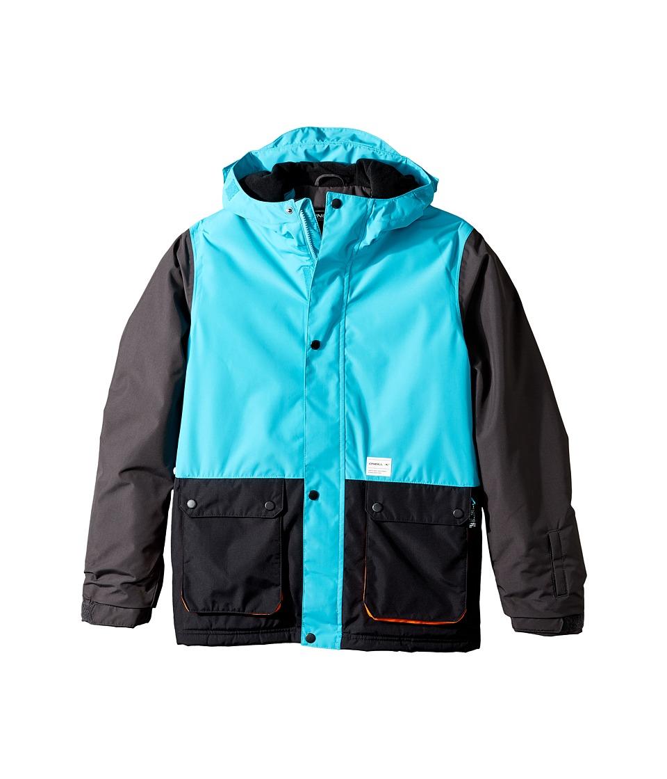 O'Neill Kids - Hawking Jacket (Little Kids/Big Kids) (Teal Blue) Boy's Coat