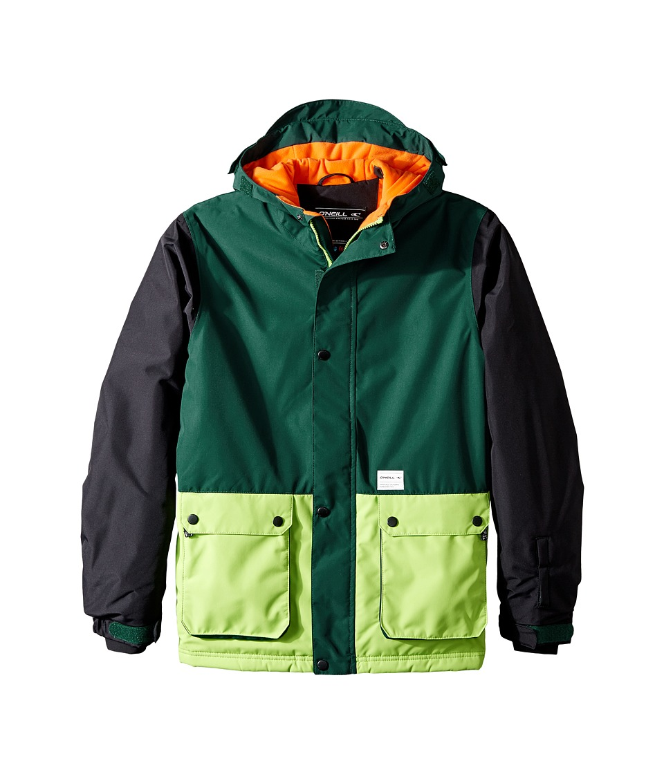 O'Neill Kids - Hawking Jacket (Little Kids/Big Kids) (Botanical Green) Boy's Coat