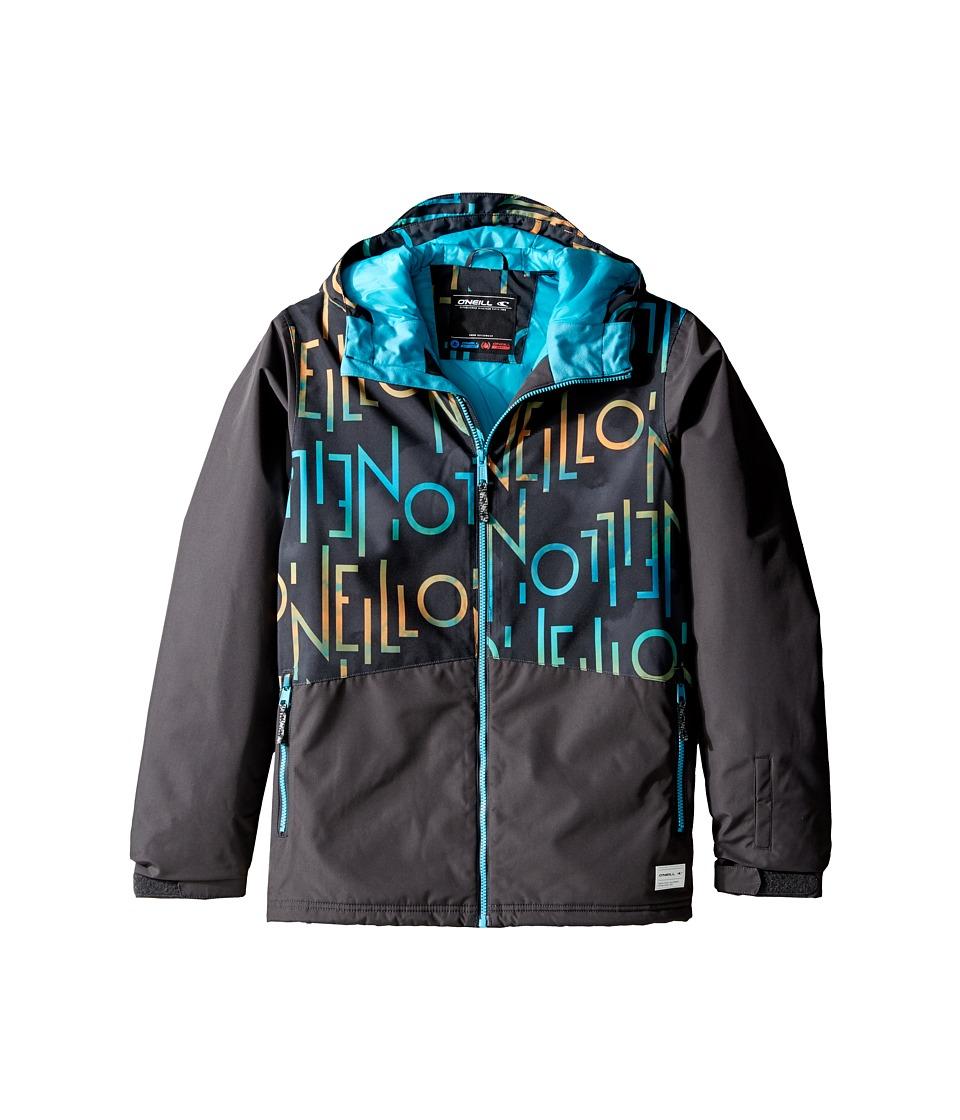 O'Neill Kids - Hubble Jacket (Little Kids/Big Kids) (Brown AOP) Boy's Coat