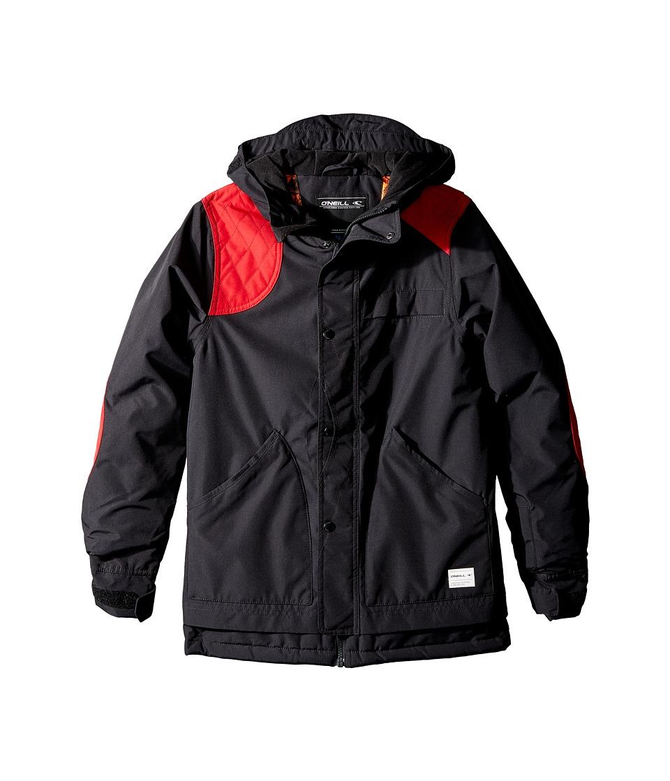 O'Neill Kids - Shooter Jacket (Little Kids/Big Kids) (Black Out) Boy's Coat