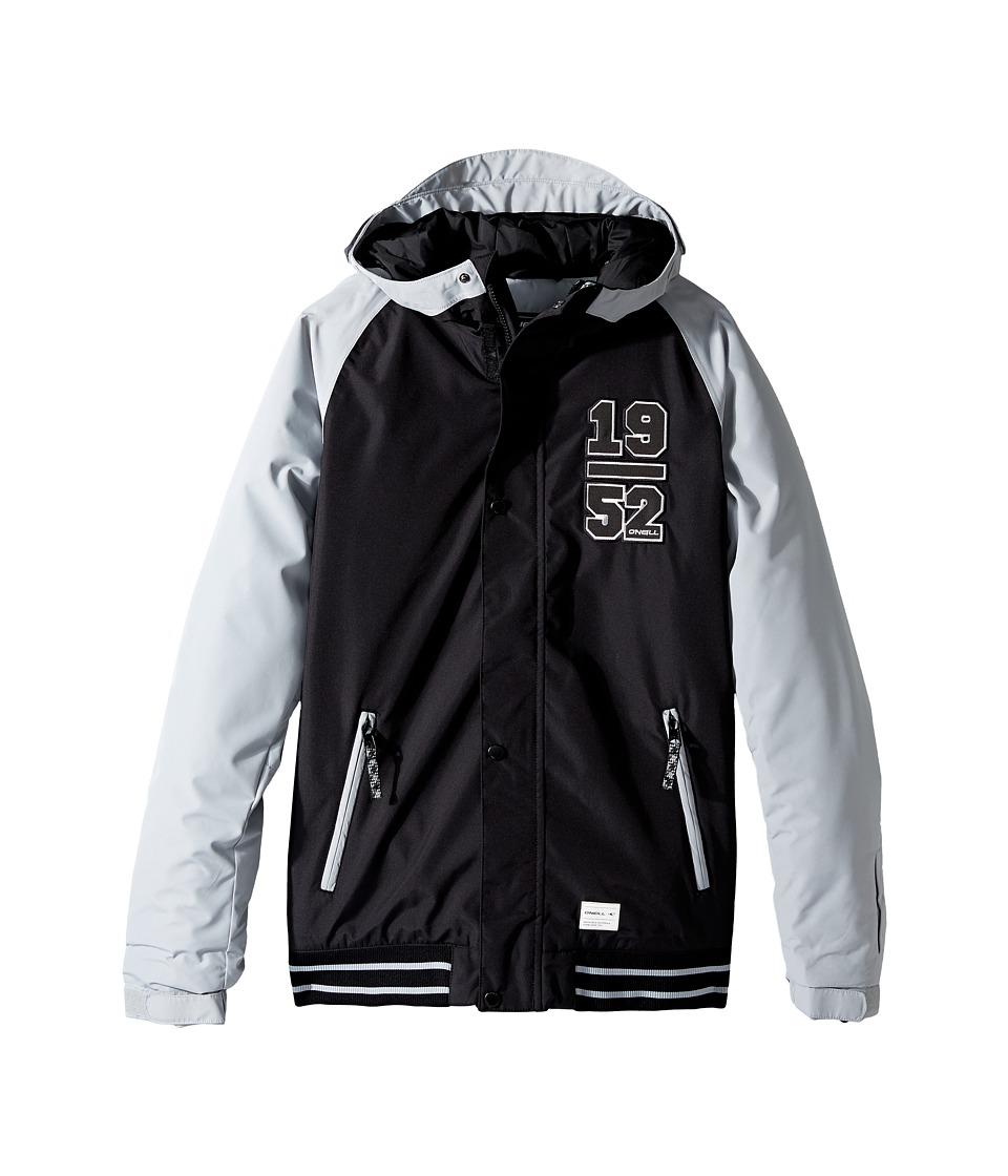 O'Neill Kids - Player Jacket (Little Kids/Big Kids) (Black Out) Boy's Coat
