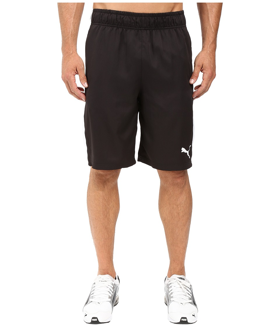 PUMA - Formstripe Woven 10 Shorts (Black/White) Men's Shorts