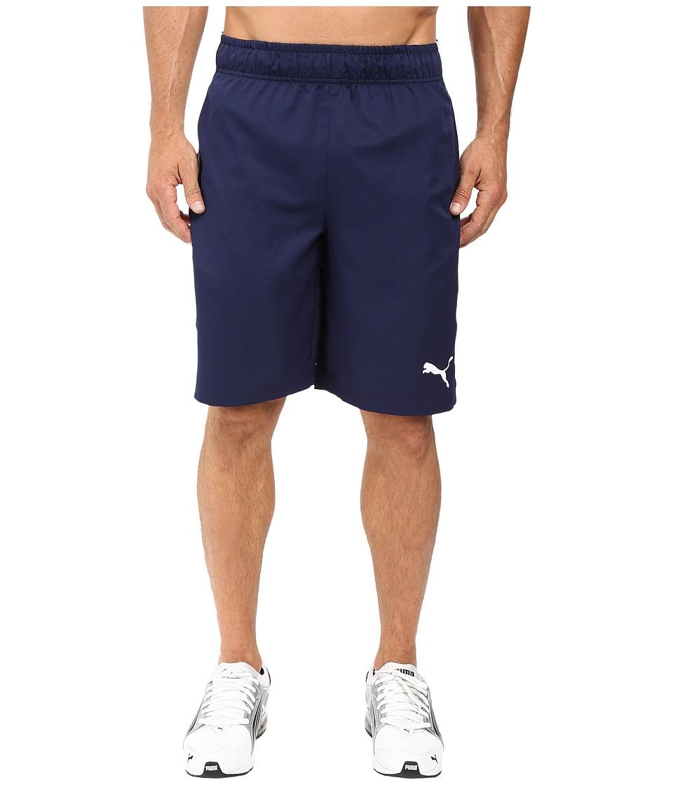 PUMA - Formstripe Woven 10 Shorts (Peacoat/White) Men's Shorts