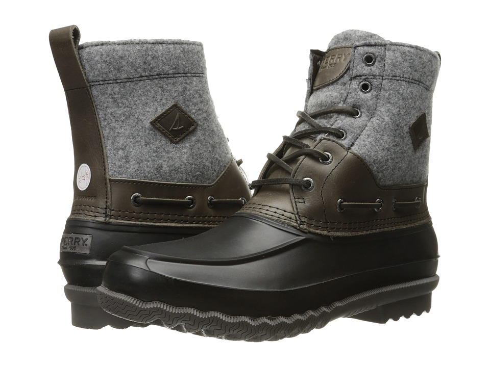 Sperry - Decoy Boot Wool (Grey) Men's Lace-up Boots