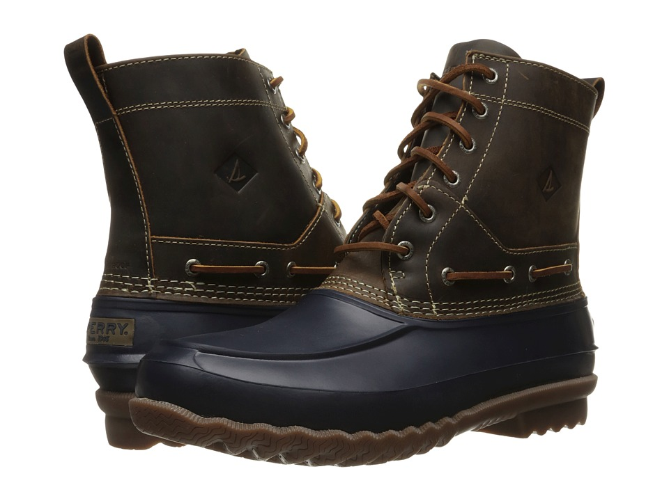 Sperry - Decoy Boot (Navy) Men's Lace-up Boots