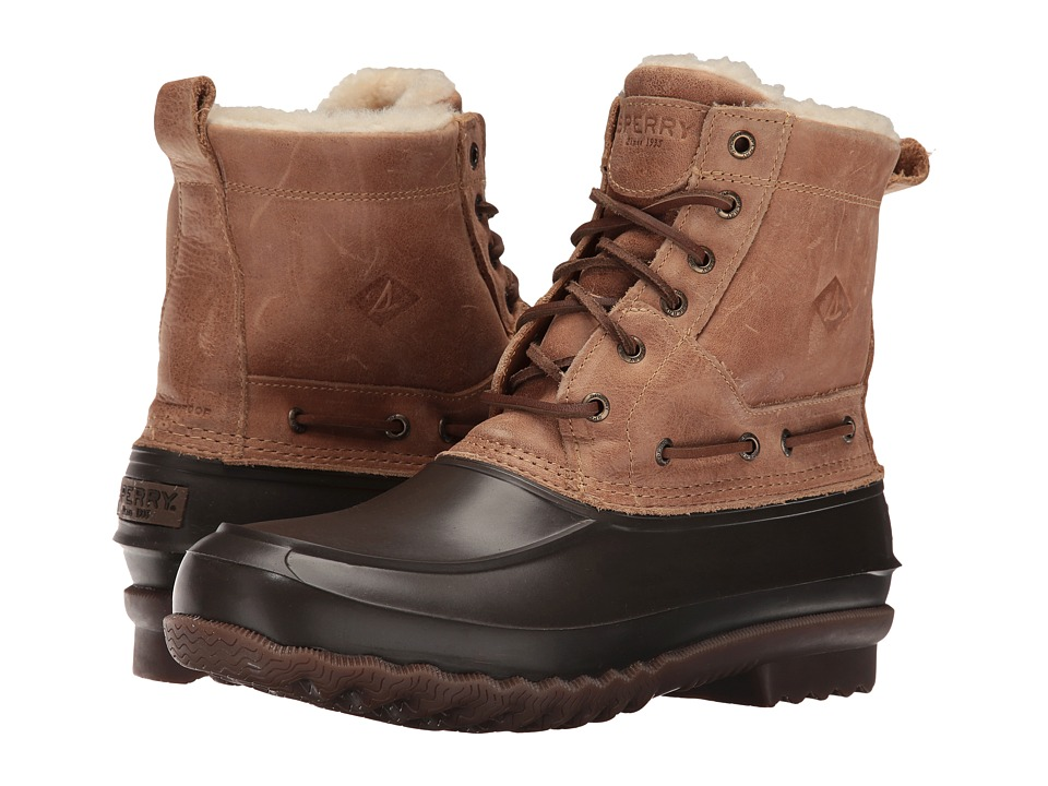 Sperry - Decoy Shearling Boot (Tan) Men's Lace-up Boots