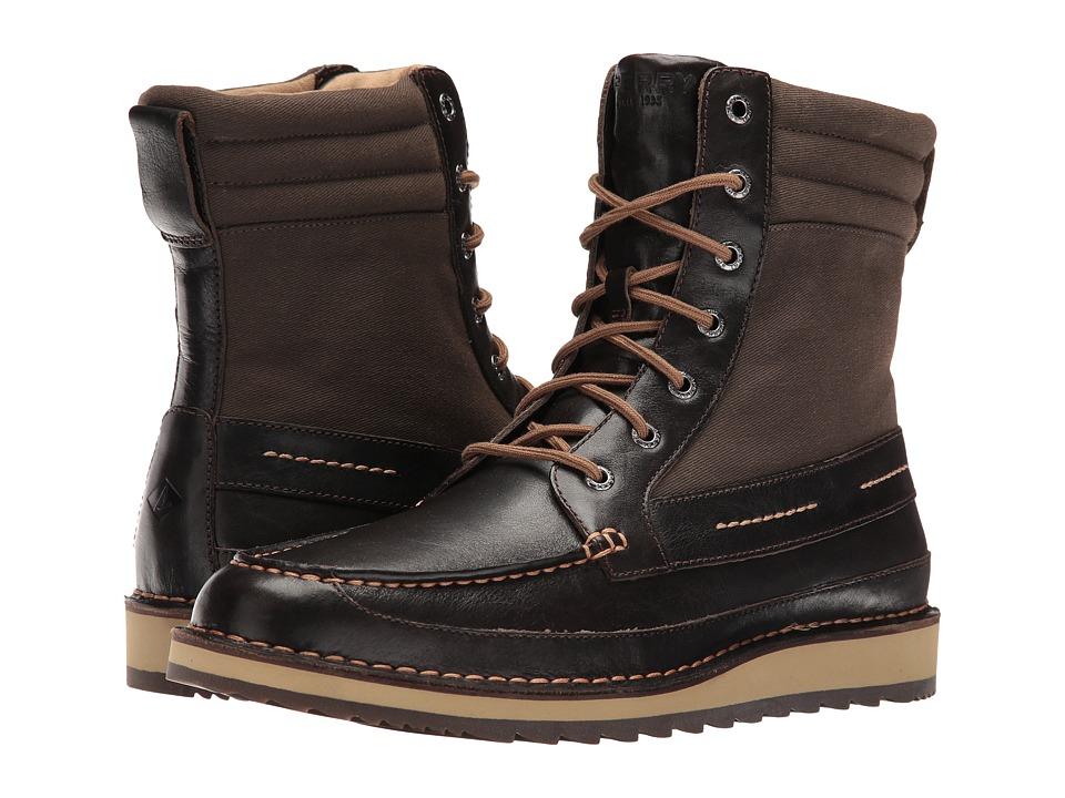 Sperry Dockyard Boot (Dark Brown) Men