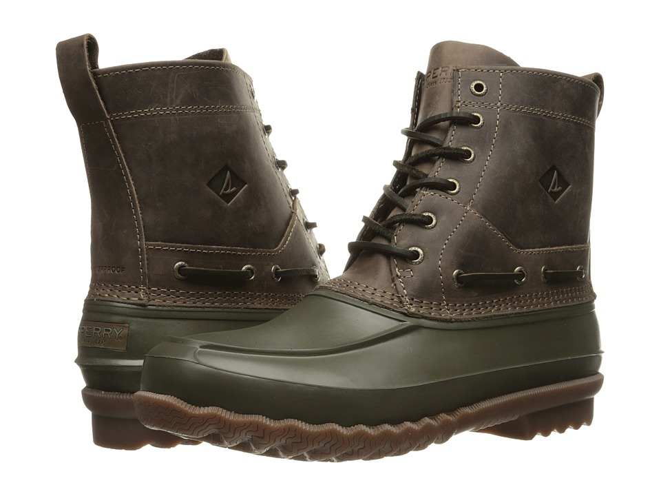Sperry - Decoy Boot (Dark Green) Men's Lace-up Boots