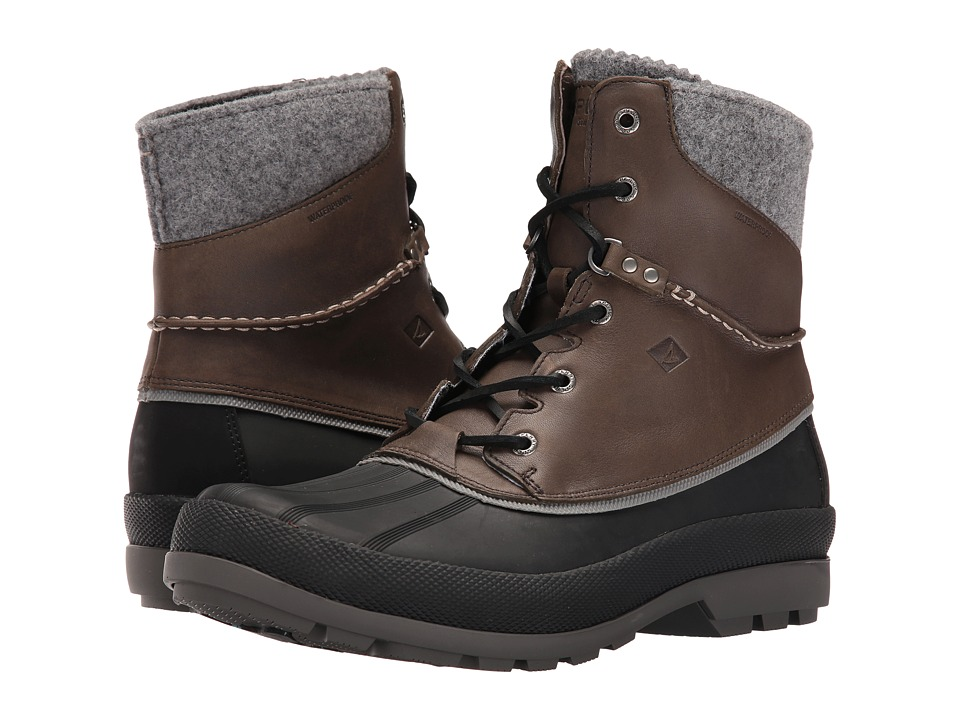 Sperry - Cold Bay Boot w/ Vibram Arctic Grip (Grey) Men's Cold Weather Boots