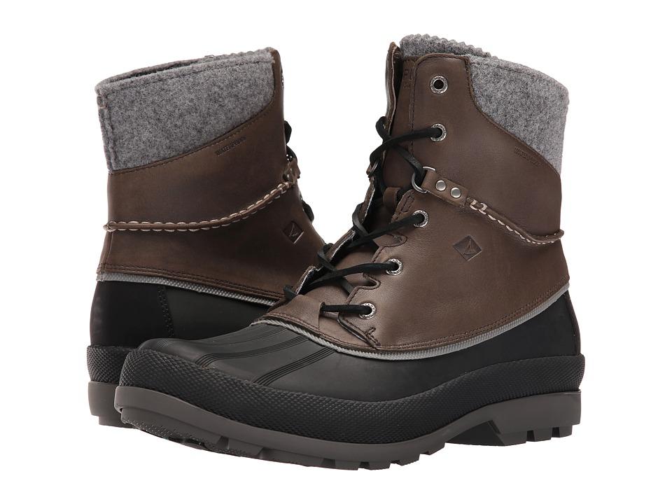 Sperry Cold Bay Boot w/ Vibram Arctic Grip (Grey) Men