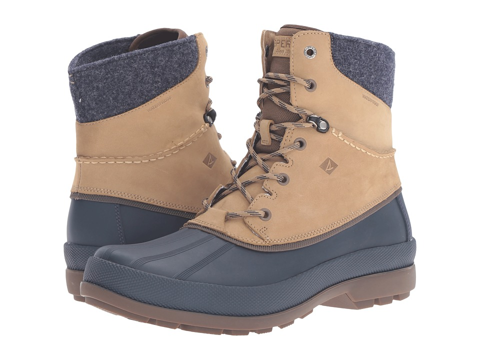 Sperry - Cold Bay Sport Boot w/ Vibram Arctic Grip (Taupe) Men's Cold Weather Boots