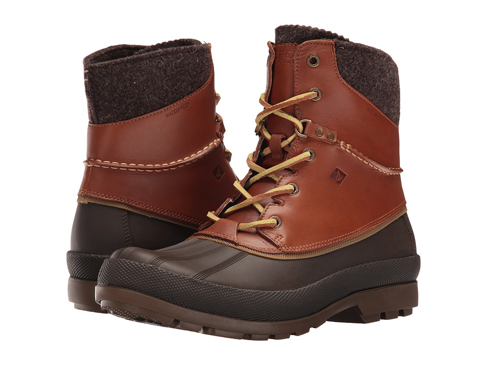 Sperry Cold Bay Boot w/ Vibram Arctic Grip (Tan) Men