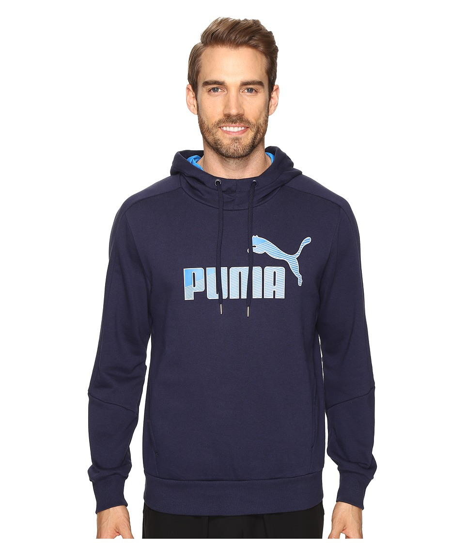 PUMA - Hero Fleece Hoodie (Peacoat) Men's Sweatshirt