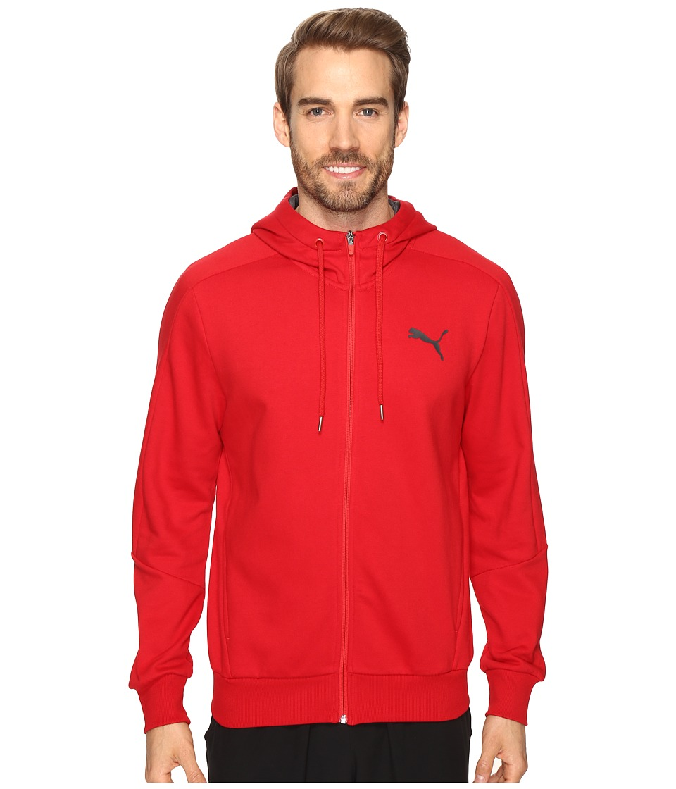 PUMA - Hero Full Zip Fleece Hoodie (Barbados Cherry) Men's Sweatshirt