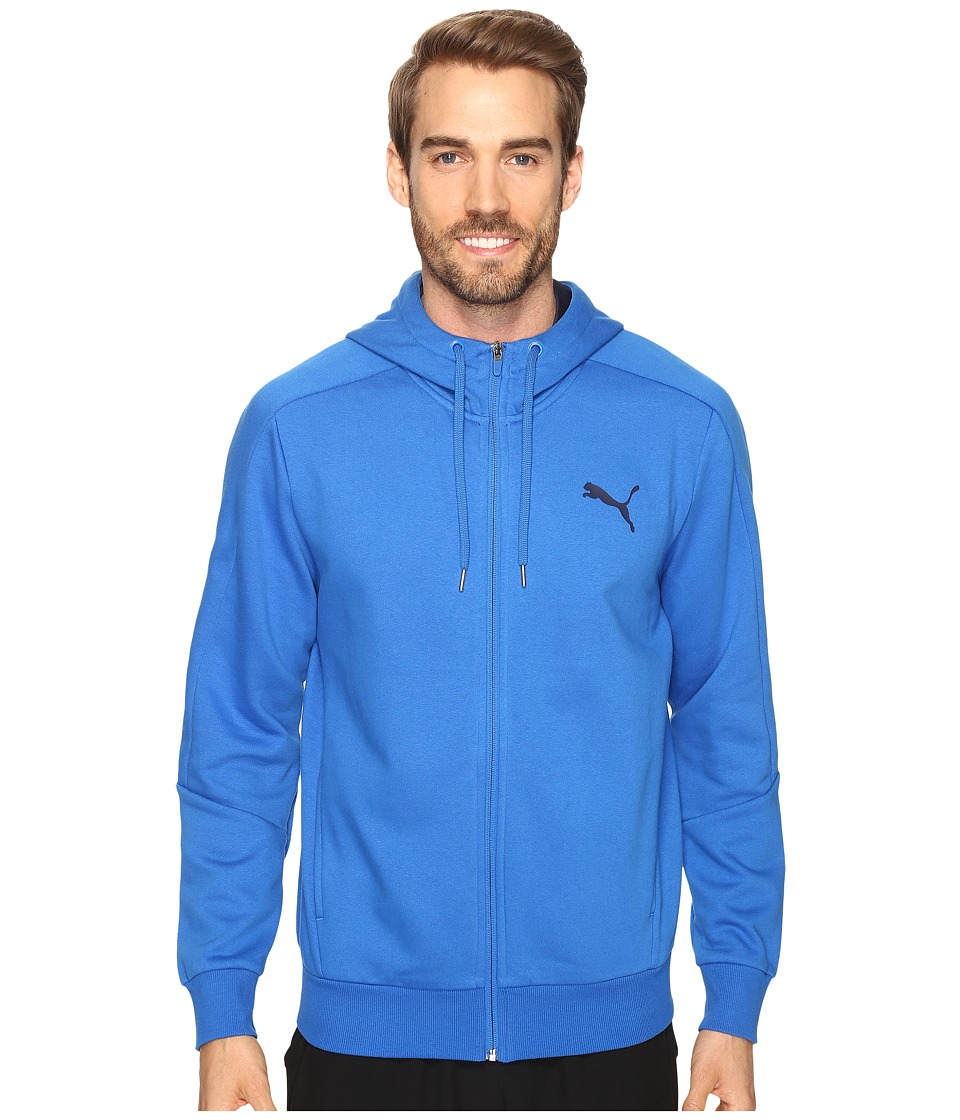 PUMA - Hero Full Zip Fleece Hoodie (Puma Royal) Men's Sweatshirt