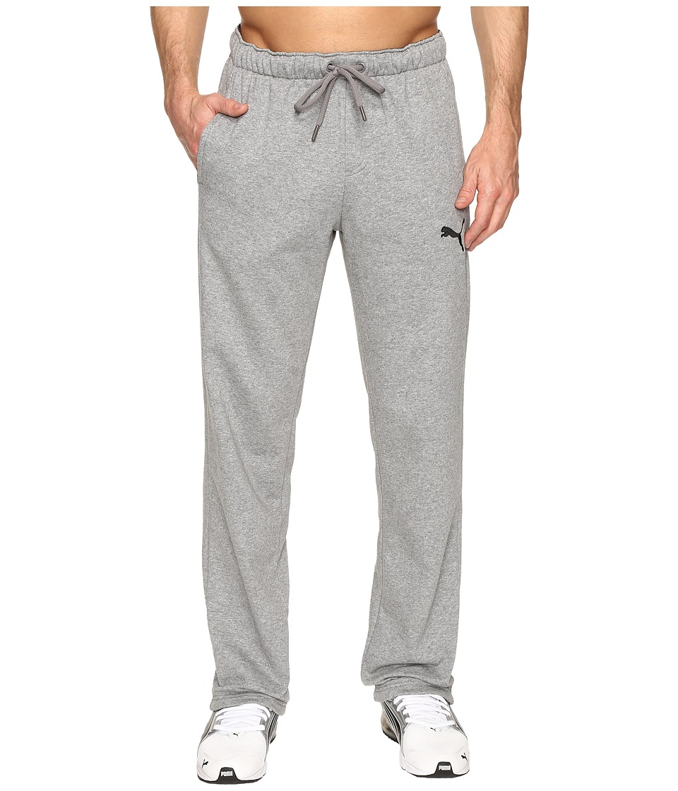 PUMA - P48 Core Fleece Pants OP (Medium Gray Heather) Men's Casual Pants