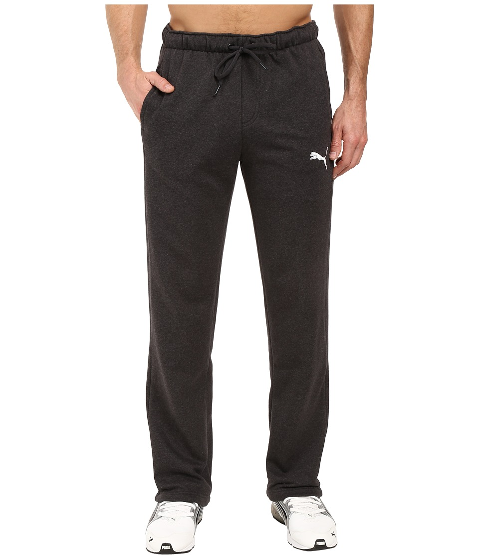 PUMA - P48 Core Fleece Pants OP (Dark Gray Heather) Men's Casual Pants