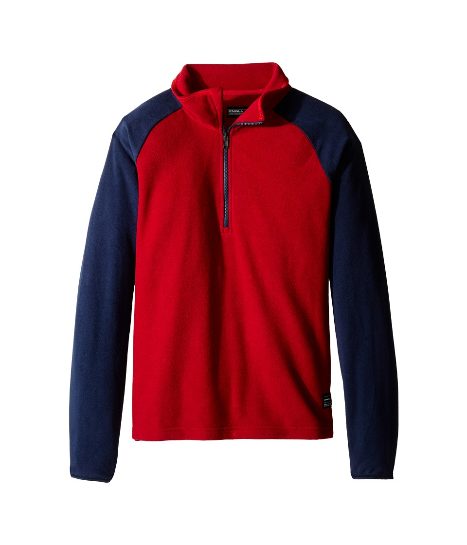 O'Neill Kids - Rails Zip Fleece (Little Kids/Big Kids) (Scooter Red) Boy's Fleece