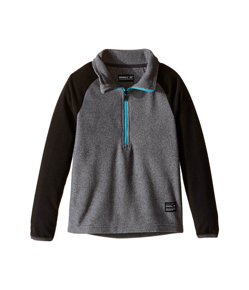 O'Neill Kids - Rails Zip Fleece (Little Kids/Big Kids) (Granite) Boy's Fleece