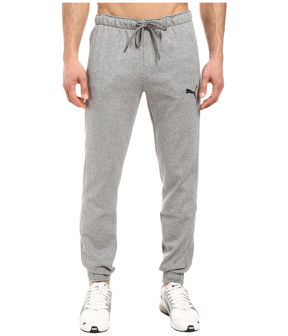 PUMA - P48 Core Fleece Pants CL (Medium Gray Heather) Men's Casual Pants
