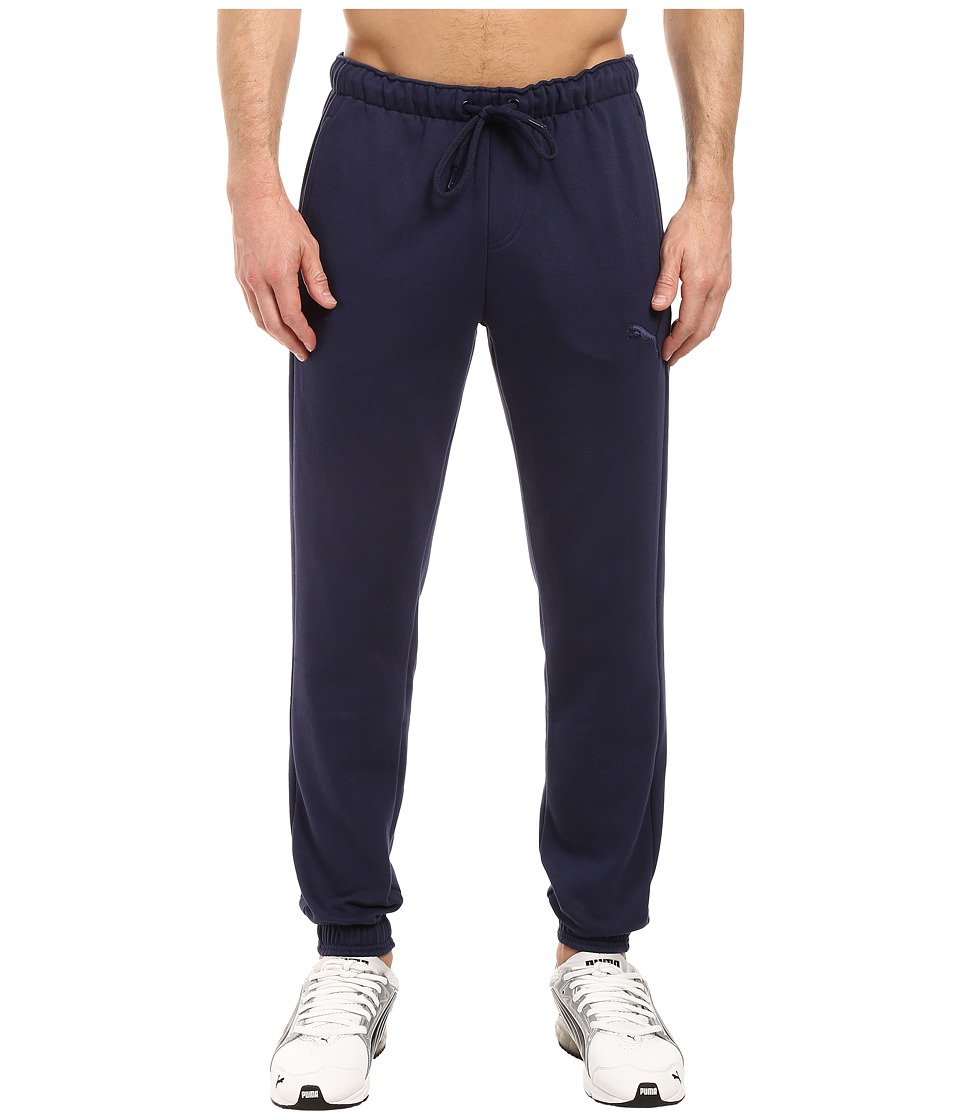 PUMA - P48 Core Fleece Pants CL (Peacoat) Men's Casual Pants