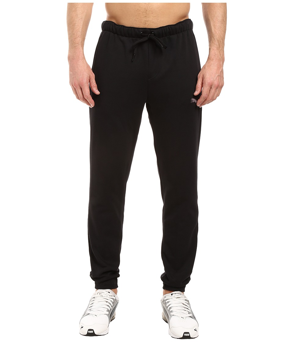 PUMA - P48 Core Fleece Pants CL (Cotton Black) Men's Casual Pants