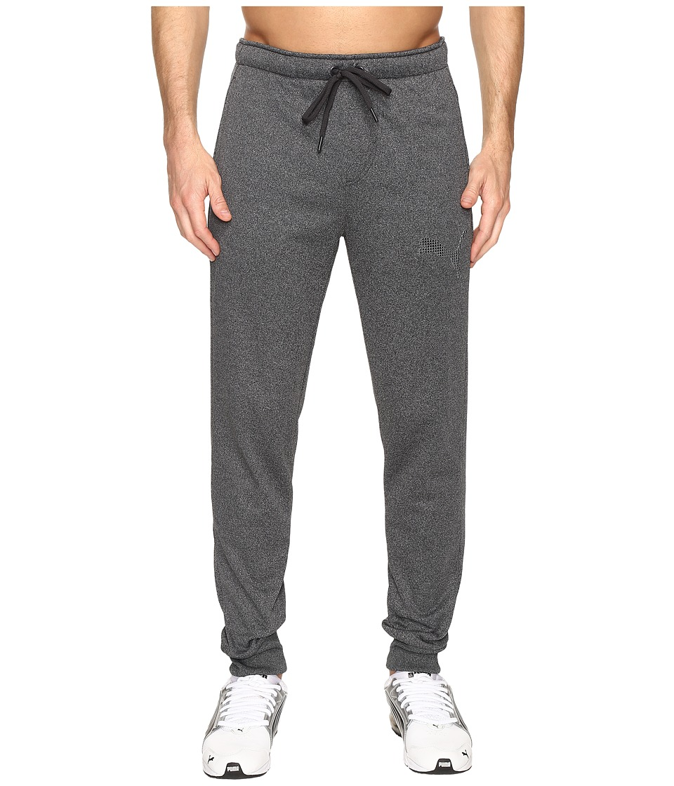 PUMA - P48 Core Tec Fleece Pants CL (Dark Gray Heather) Men's Casual Pants