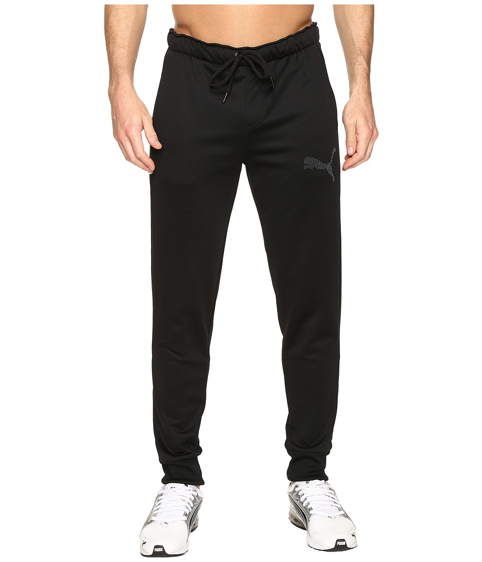 PUMA - P48 Core Tec Fleece Pants CL (Cotton Black) Men's Casual Pants