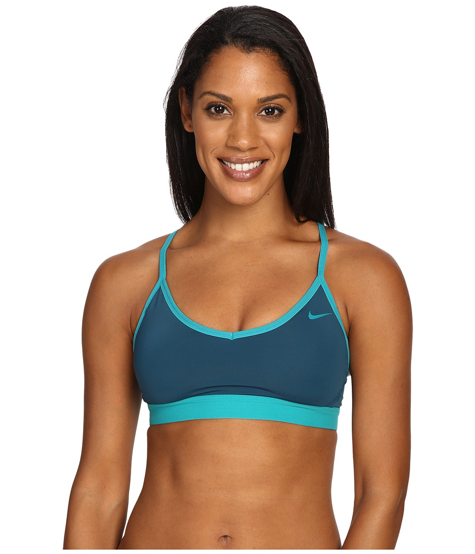 Nike - Pro Indy Bra (Teal Charge) Women's Bra