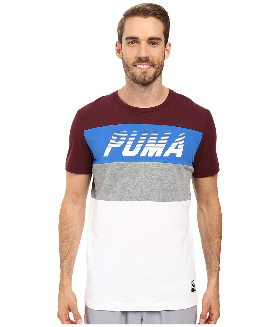 PUMA - Speed Font Tee (Winetasting) Men's T Shirt