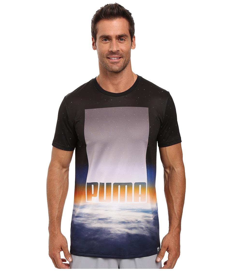 PUMA - Mesosphere Tee (Puma White/Mesosphere AOP) Men's T Shirt