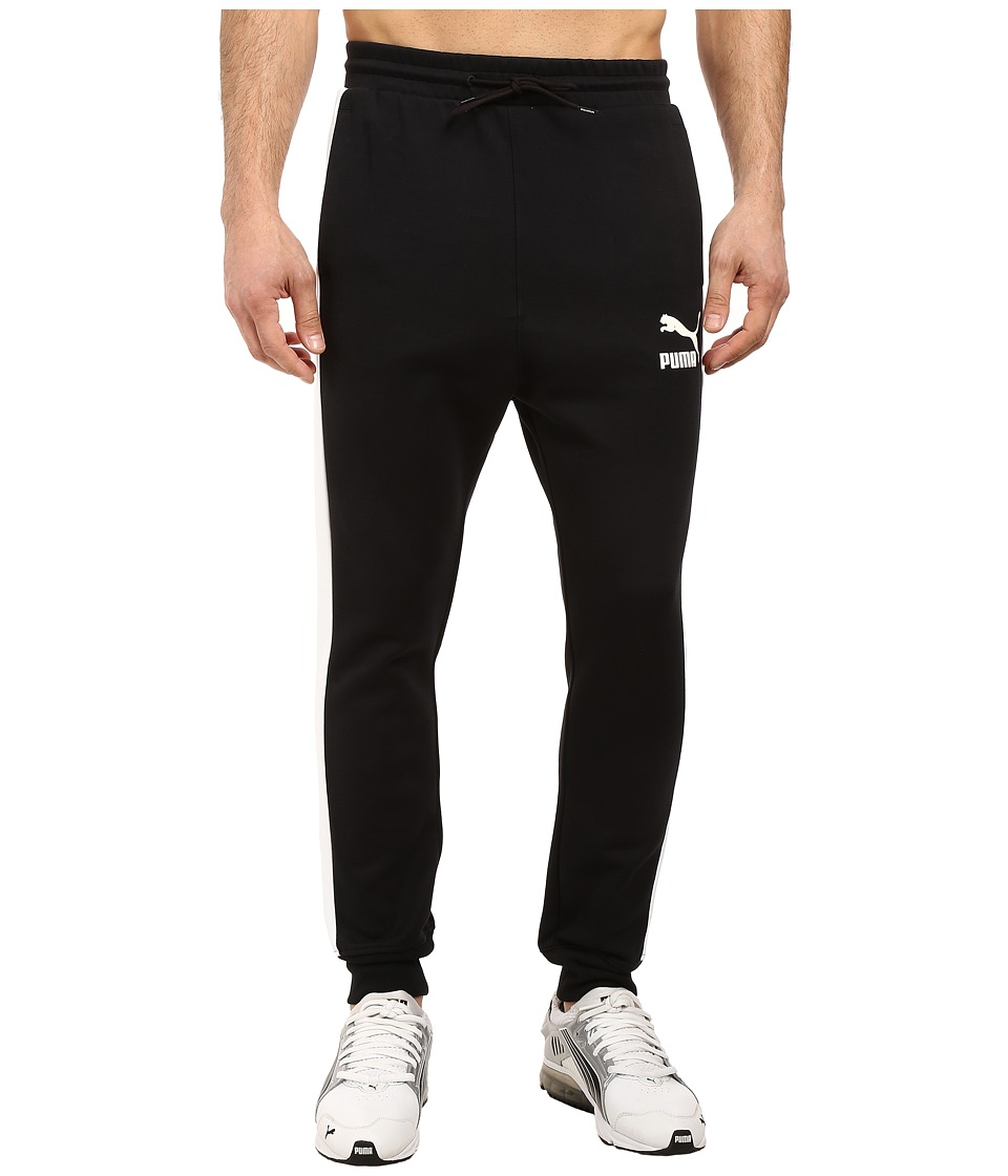 PUMA - T7 Track Pants (PUMA Black) Men's Casual Pants
