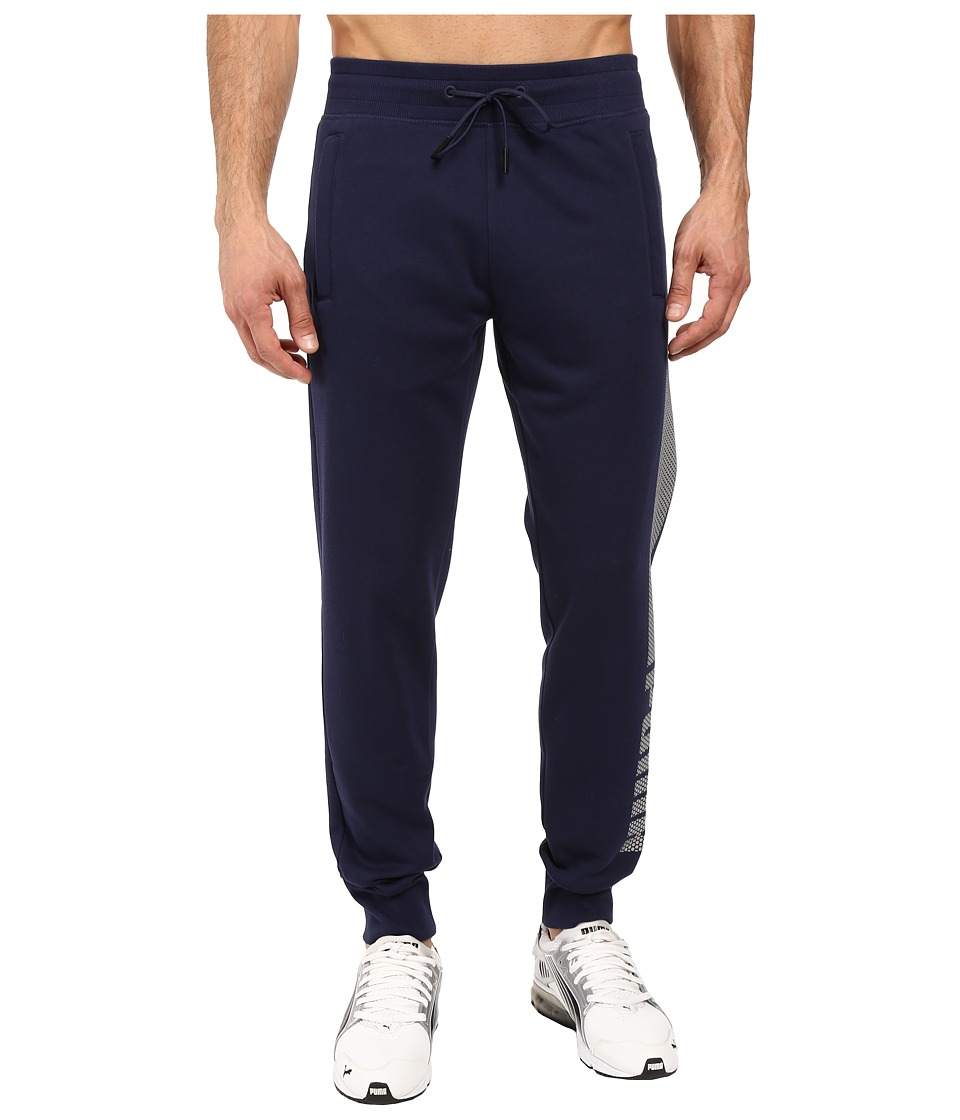 PUMA - Evo Core Fleece Pants (Peacoat) Men's Casual Pants